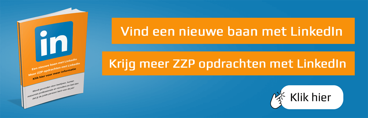 Banner ebook LinkedIn Nieuwe baan en ZZP opdrachten 1200x387 -2
