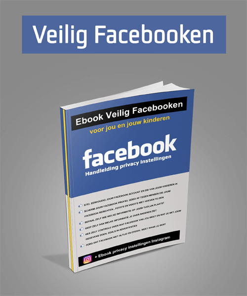 Ebook Facebook - Veilig Facebooken 500x600 - 1
