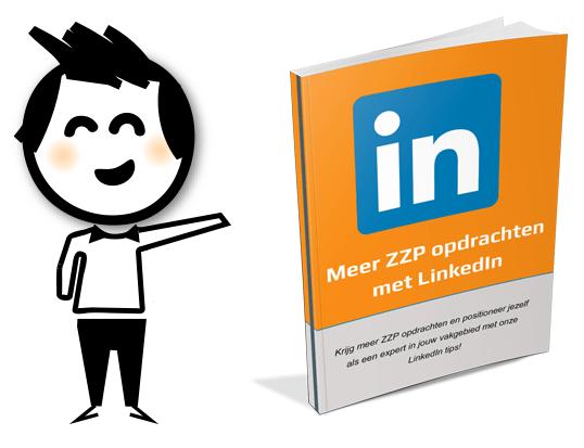 Ebook LinkedIn - Meer ZZP opdrachten met LinkedIn - ebook presentatie