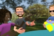 Facebook Spaces - virtual reality bril Oculus Rift