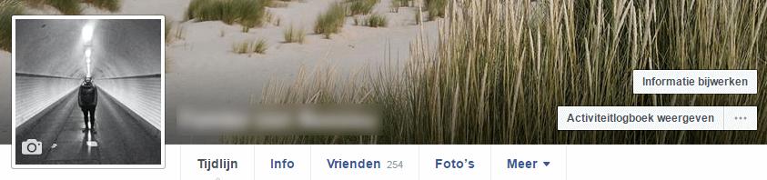 Facebook activiteitlogboek weergeven - Facebook privacyinstellingen