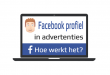 Facebook profiel in advertenties tumbnail