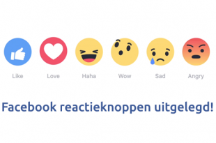 Facebook reactieknoppen - like-knop uitgelegd 1