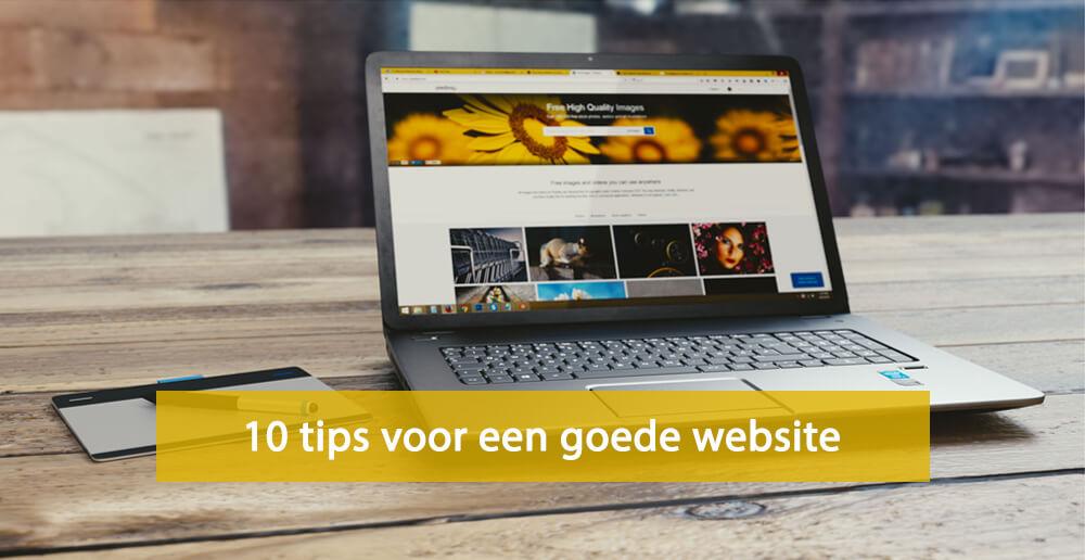 Goede website - tips voor een goede website - goede website maken