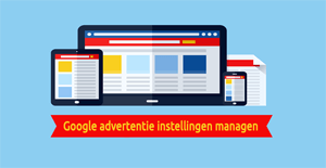 Google privacy instellingen - Advertentie instellingen