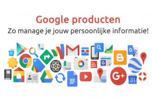 Google producten persoonlijke informatie beheren