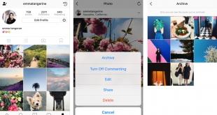 Instagram Archiveren - Wat is Instagram Archiveren - Hoe werkt Instagram Arhiveren