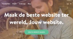 Jimdo ervaringen websitemaker - zelf een website maken - websitebouwer