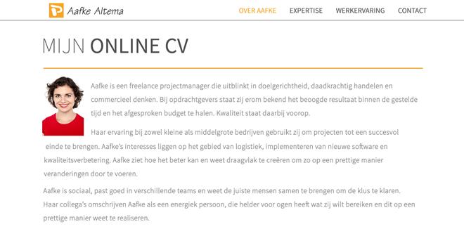 Mijn Online CV | Spring in het oog bij potentiele werkgevers
