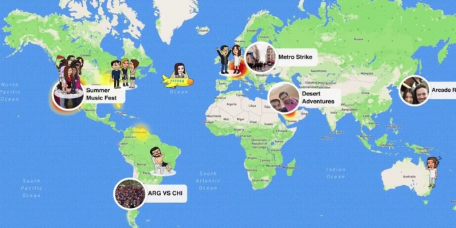 Snap kaart - Snap Map