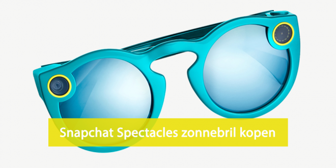 Snapchat spectacles kopen - Snapchat zonnebril kopen