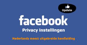 Social media privacy - Facebook privacy instellingen