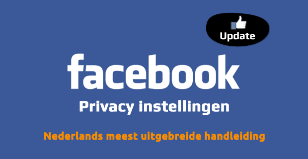 Social media privacy - Facebook privacy instellingen
