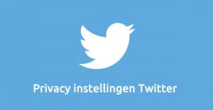 Social media privay - Privacy instellingen Twitter