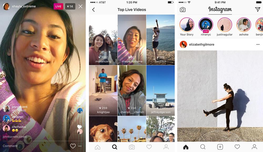 Hoe ga je Instagram live?