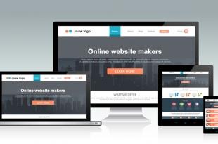 Website maker - Online website makers